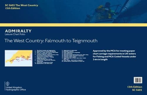 SC5602 The West Country, Falmout To Teignmouth (12TH EDITION)